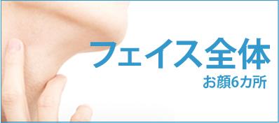 フェイス全体10回¥59,800
