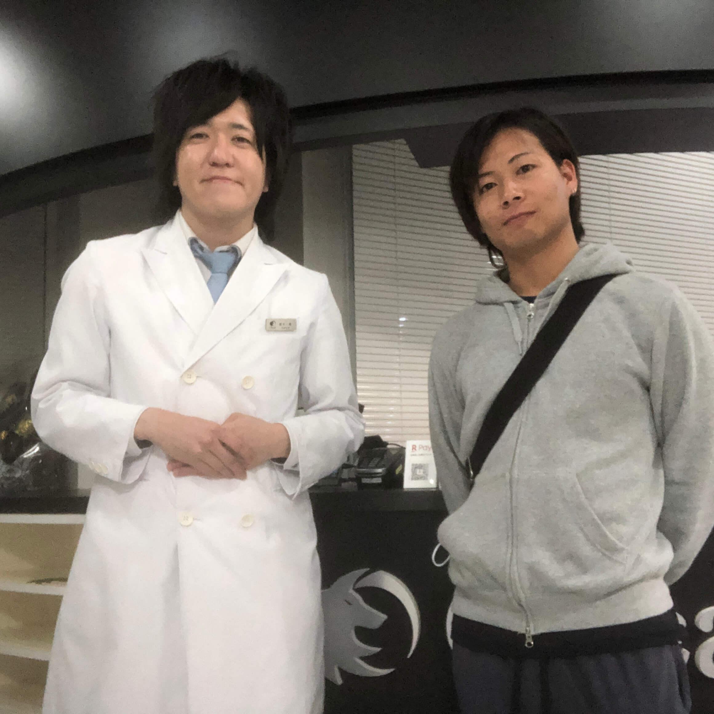 名古屋 K・T様 23歳営業 全身脱毛(ヒゲ脱毛・VIO脱毛)